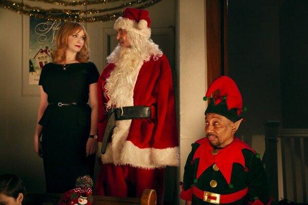 кадры и фото из фильма Плохой Санта 2