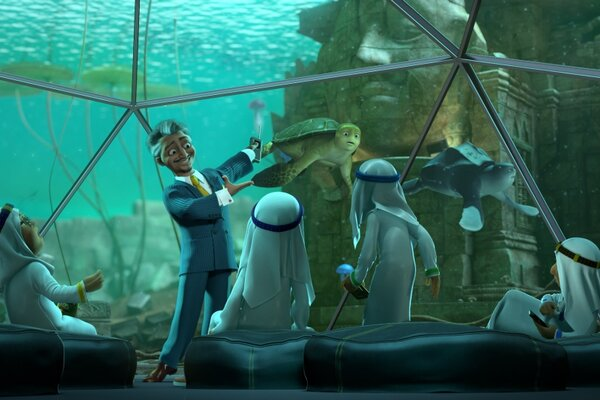 кадры и фото из фильма Шевели ластами 2 3D