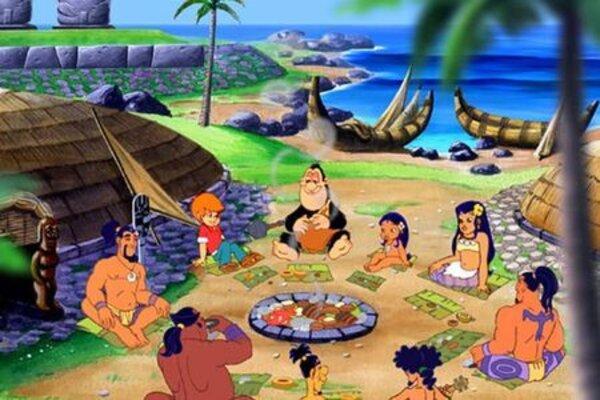 кадры и фото из фильма Волшебный остров