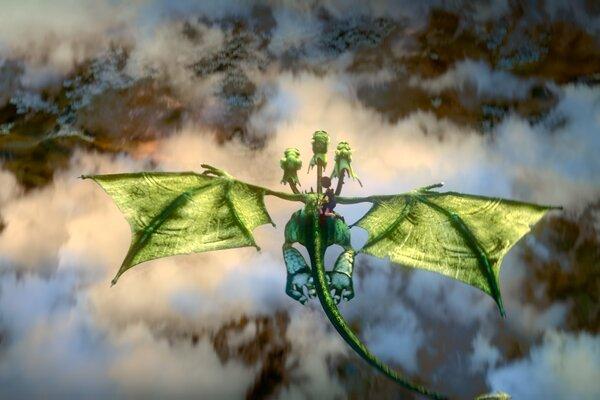 кадры и фото из фильма Богатырша 3D