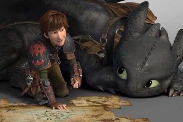 кадры и фото из фильма Как приручить дракона 2