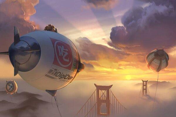 кадры и фото из фильма Город героев 3D