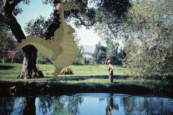 кадры и фото из фильма Дракон Пита