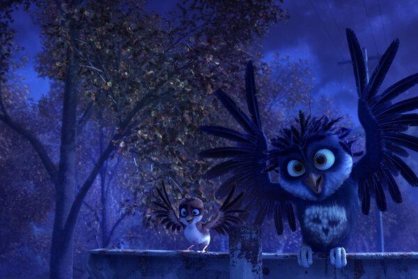 кадры и фото из фильма Трио в перьях