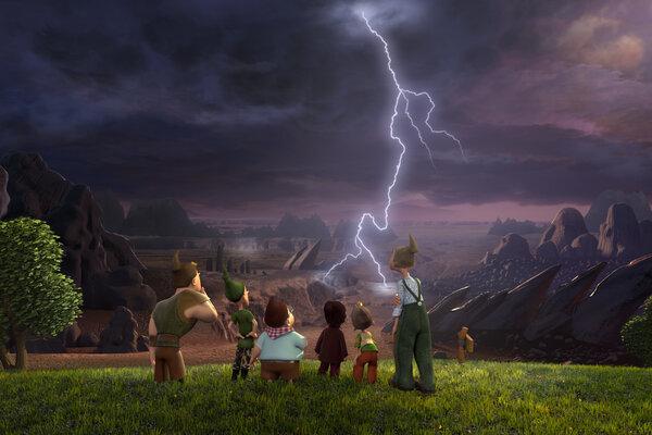 кадры и фото из фильма 7-ой гном 3D