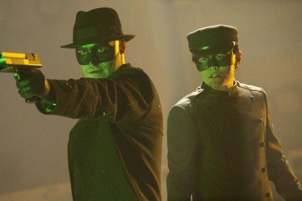 кадры и фото из фильма Зеленый Шершень