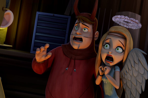 кадры и фото из фильма Тайна семьи монстров