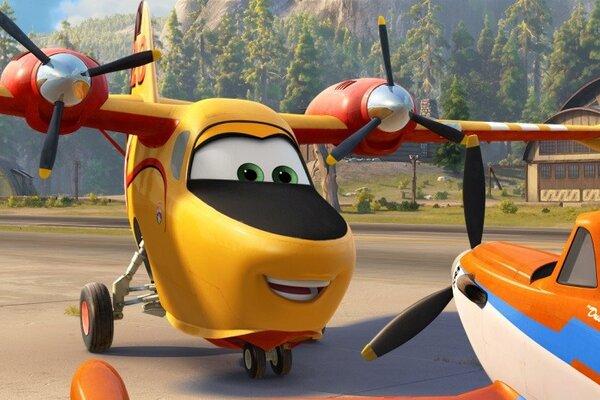 кадры и фото из фильма Самолеты: Огонь и вода 3D