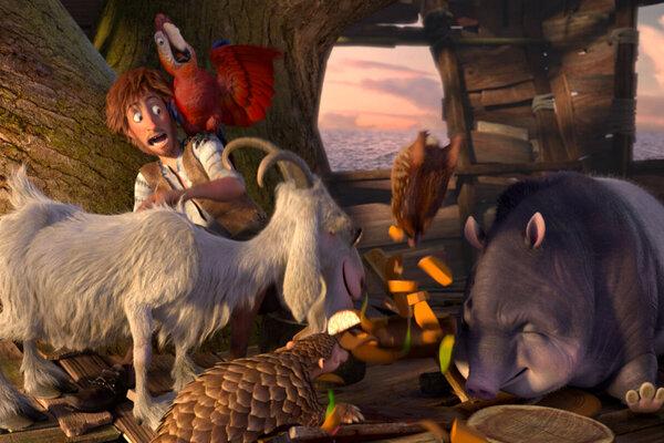 кадры и фото из фильма Робинзон Крузо: Очень обитаемый остров