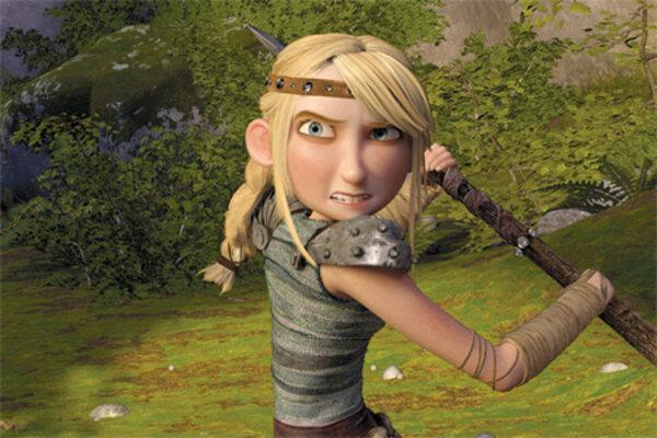 кадры и фото из фильма Как приручить дракона IMAX 3D