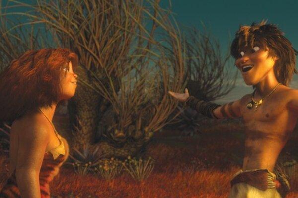 кадры и фото из фильма Семейка Крудс 3D