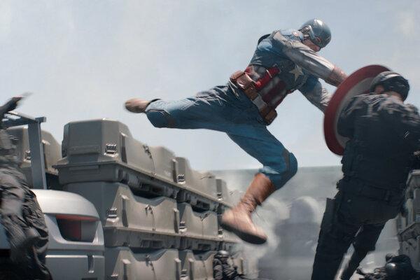 кадры и фото из фильма Первый мститель: Другая война 3D