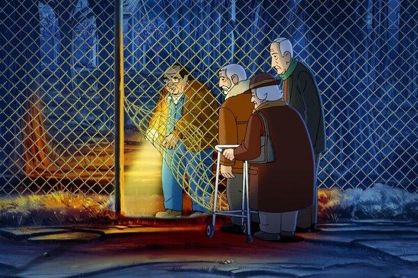 кадры и фото из фильма Морщинки