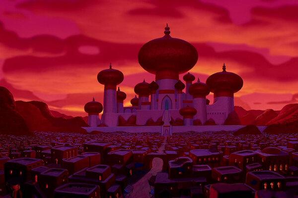 кадры и фото из фильма Аладдин
