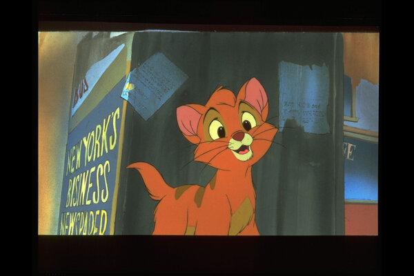 кадры и фото из фильма Оливер и компания