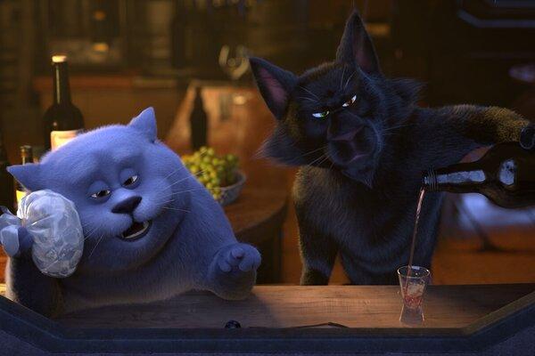 кадры и фото из фильма Большой кошачий побег