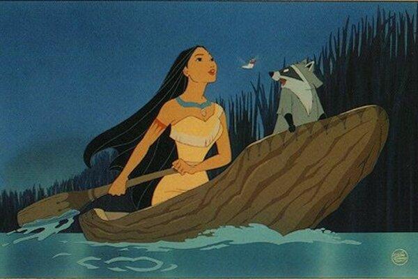 кадры и фото из фильма Покахонтас