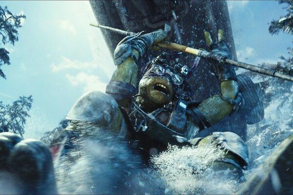 кадры и фото из фильма Черепашки-ниндзя 3D