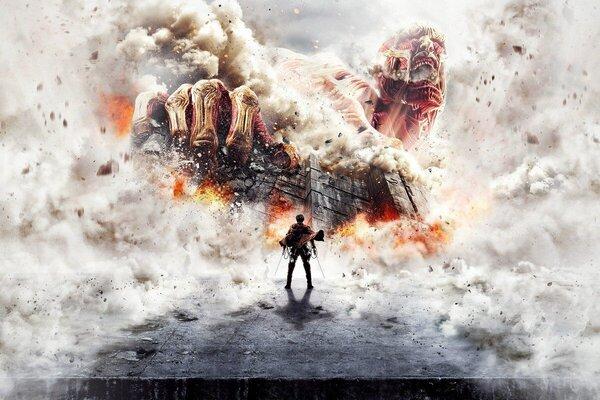 кадры и фото из фильма Атака титанов. Фильм первый: Жестокий мир