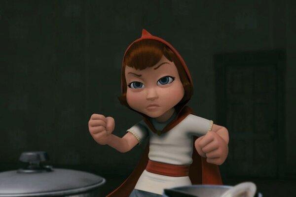 кадры и фото из фильма Красная Шапка против зла