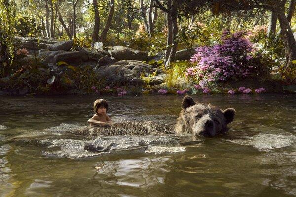 кадры и фото из фильма Книга джунглей 3D
