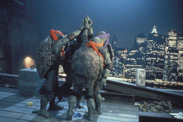 кадры и фото из фильма Черепашки-ниндзя 2: Тайна изумрудного зелья