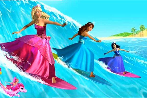 кадры и фото из фильма Барби: Академия принцесс