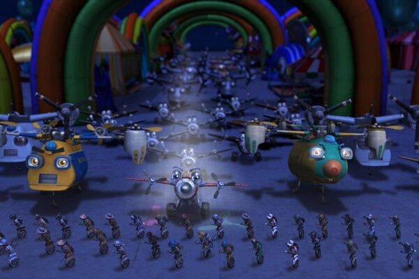 кадры и фото из фильма Аэротачки 3D