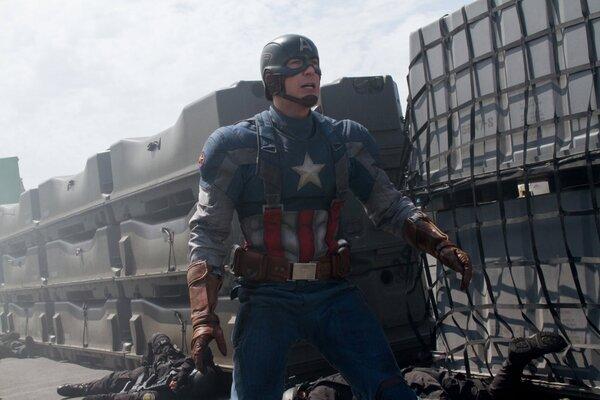 кадры и фото из фильма Первый мститель: Другая война IMAX 3D