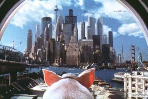 кадры и фото из фильма Бэйб: Поросенок в городе