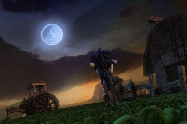 кадры и фото из фильма Блэки летит на Луну