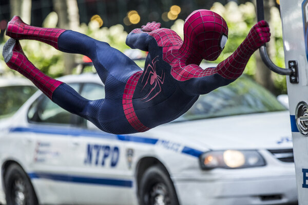 кадры и фото из фильма Новый Человек-паук: Высокое напряжение 3D