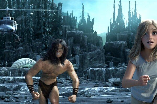 кадры и фото из фильма Тарзан 3D