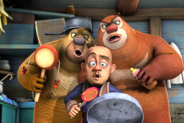 кадры и фото из фильма Медведи-соседи