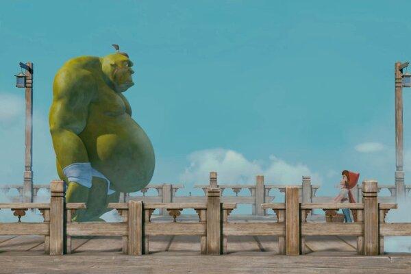 кадры и фото из фильма Красная Шапка против зла 3D