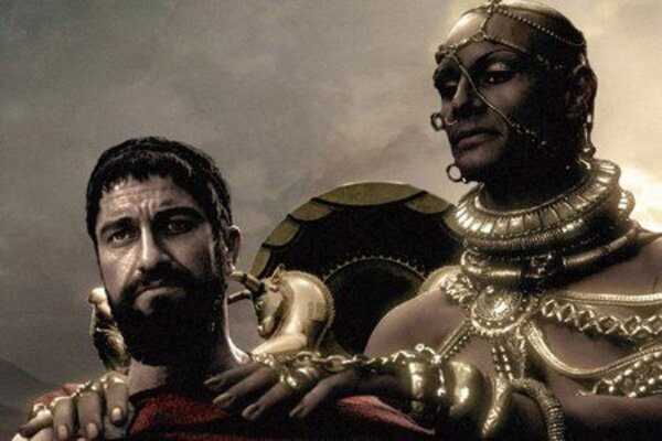 кадры и фото из фильма 300 спартанцев
