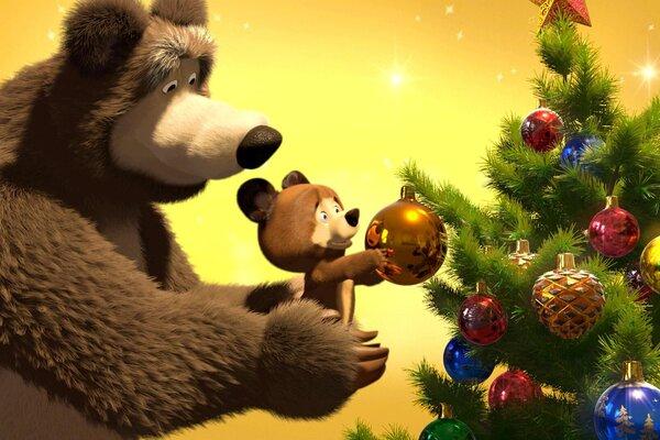 кадры и фото из фильма Маша и медведь. Как хорошо мы подружились!