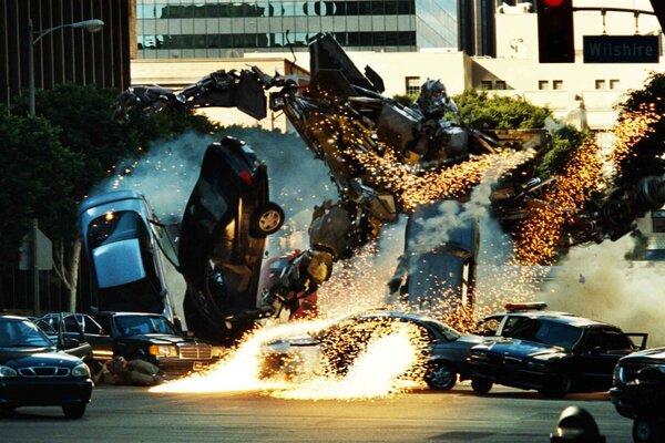кадры и фото из фильма Трансформеры