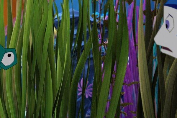 кадры и фото из фильма Храбрый плавник 3D