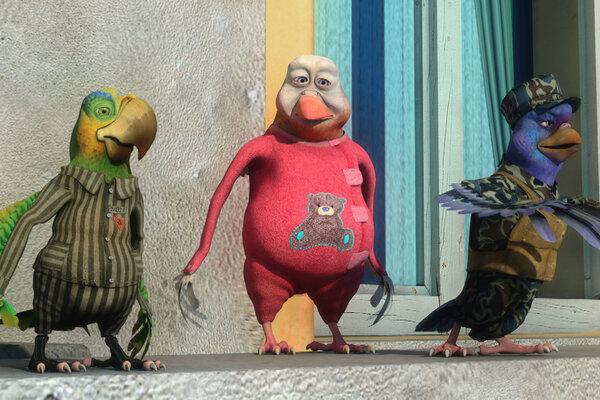 кадры и фото из фильма Кукарача 3D