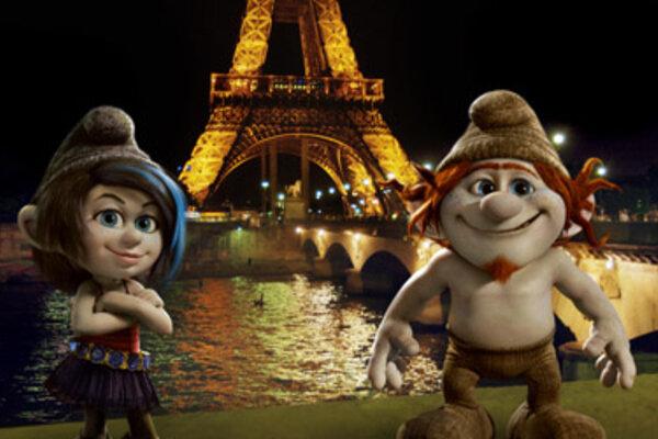 кадры и фото из фильма Смурфики 2 в 3D