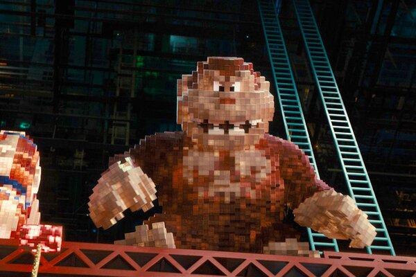 кадры и фото из фильма Пиксели 3D
