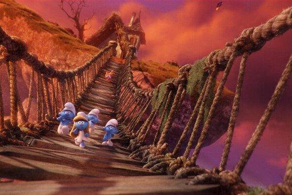 кадры и фото из фильма Смурфики: Затерянная деревня