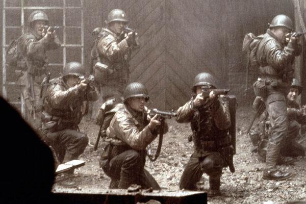 кадры и фото из фильма Спасти рядового Райана