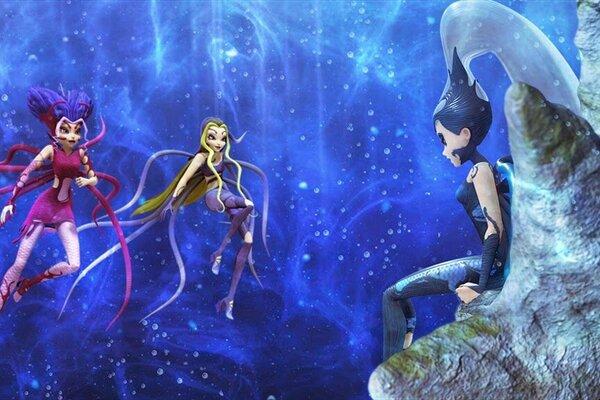 кадры и фото из фильма Клуб WINX: Тайна морской бездны