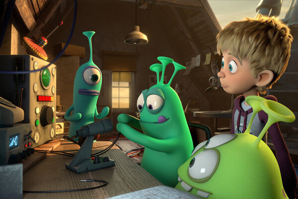 кадры и фото из фильма Пришельцы в доме