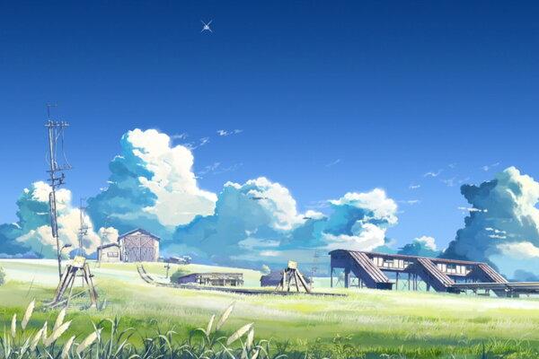 кадры и фото из фильма За облаками