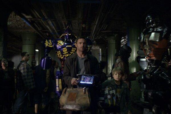 кадры и фото из фильма Живая сталь