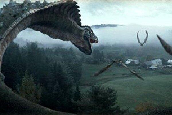 кадры и фото из фильма Война динозавров