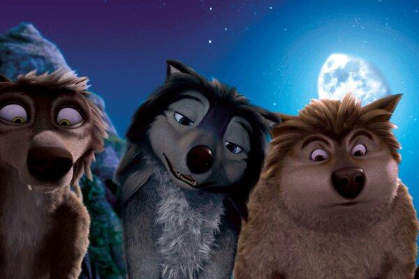 кадры и фото из фильма Альфа и Омега: Клыкастая братва 3D